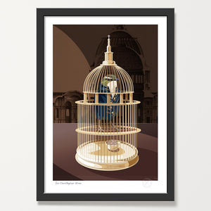 Sir Christopher Wren art print