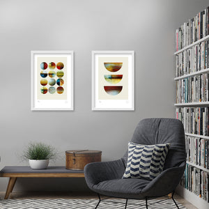 Forecast and Capture geometric prints
