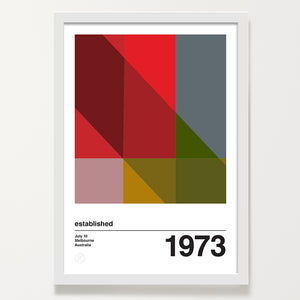 Hue 2 personalised art print