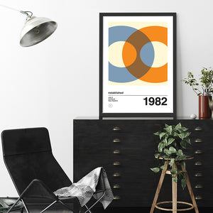 A1 Orbit 1 art print