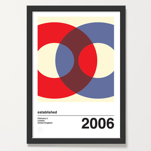 Orbit 3 personalised art print
