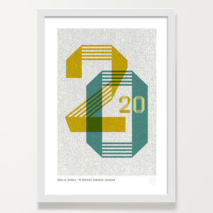 Customised 2020 year print