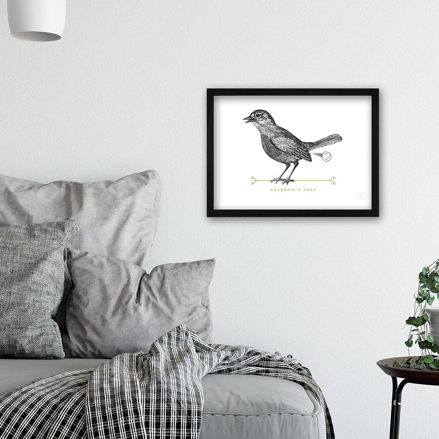 Sparrow's Fart art print