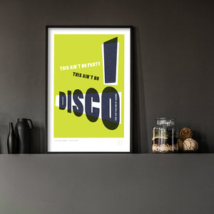 This Ain't No Disco - Lime