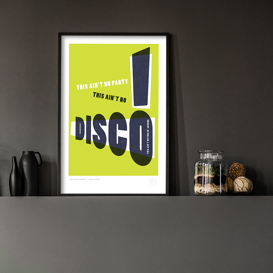 This Ain't No Disco - Marmalade - Black frame