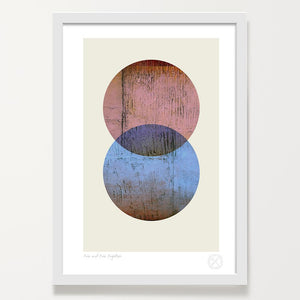 Two and Two Together art print