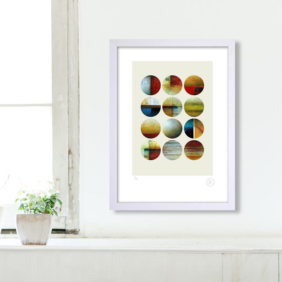 Forecast art print Jacqueline Cockrill