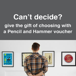 Pencil and Hammer gift voucher