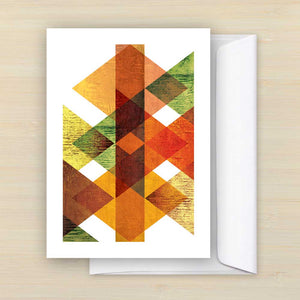 Landskap greeting card