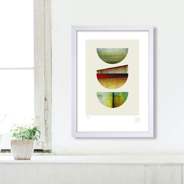 Scape art print Jacqueline cockrill