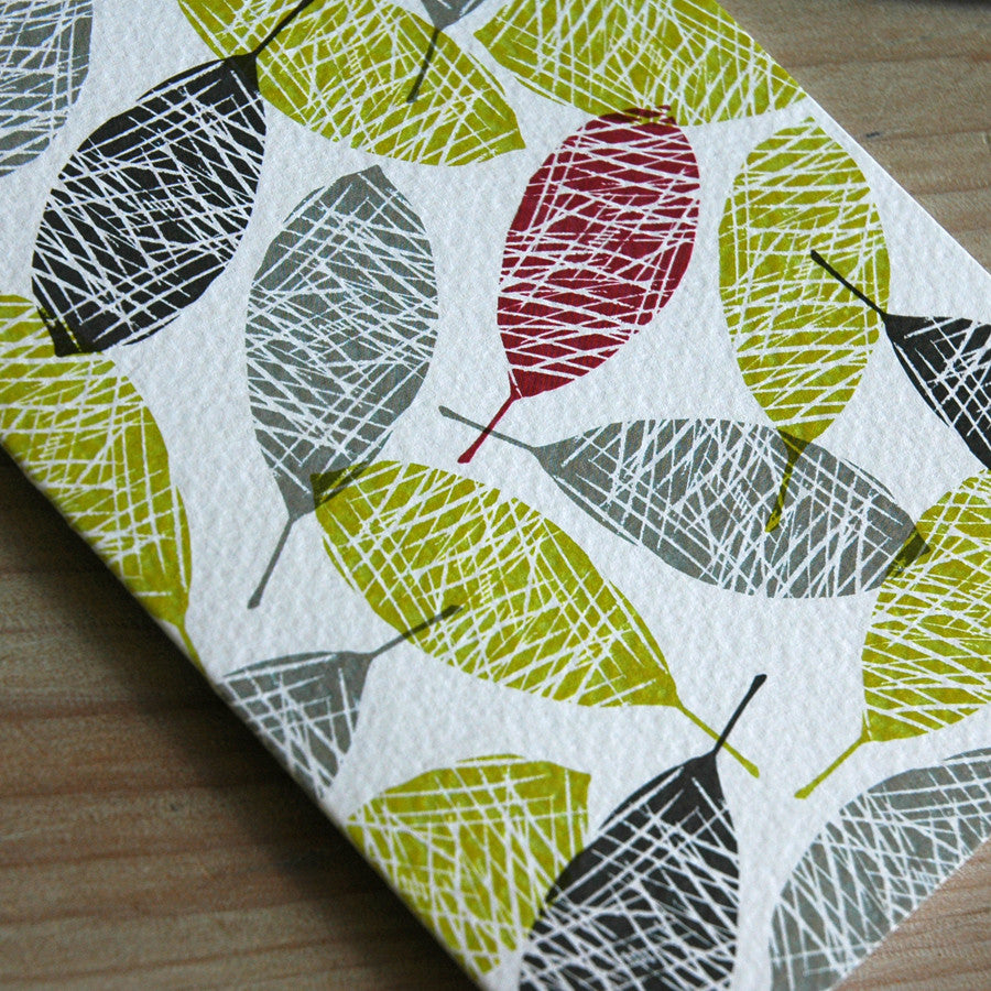 Bay leaves card