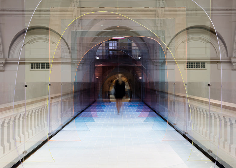 Tinted Perspex Art Installation V&A London 2015