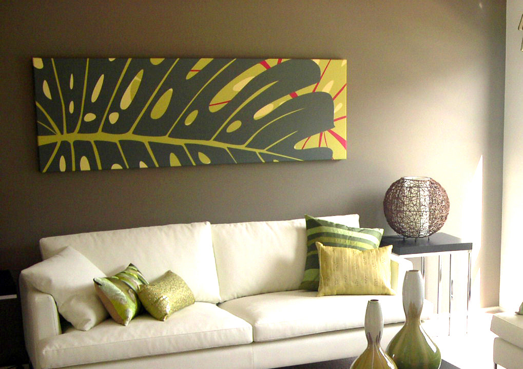 signarture noosa artwork to go with sofa