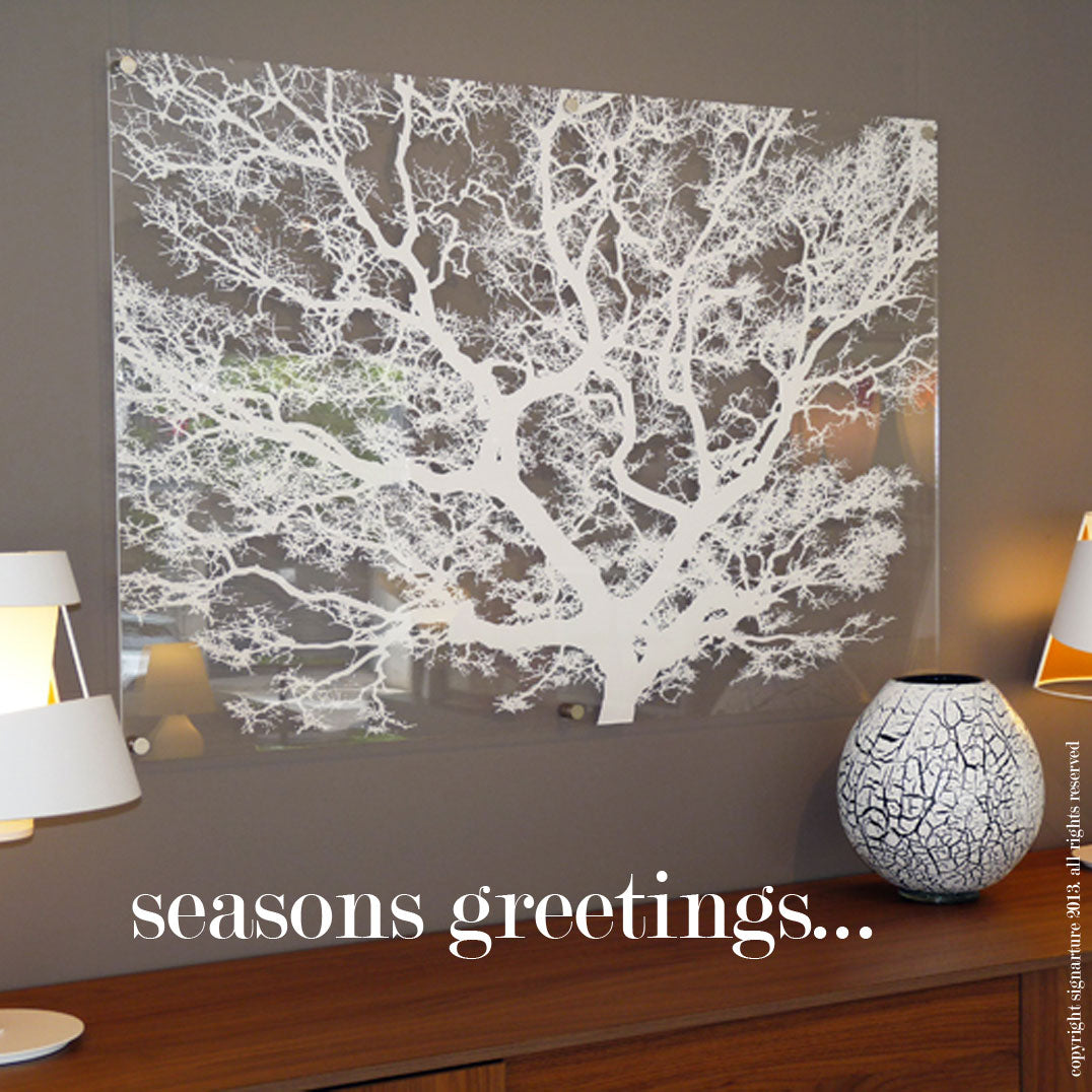 Seasons Greetings And Happy Holidays Signarture