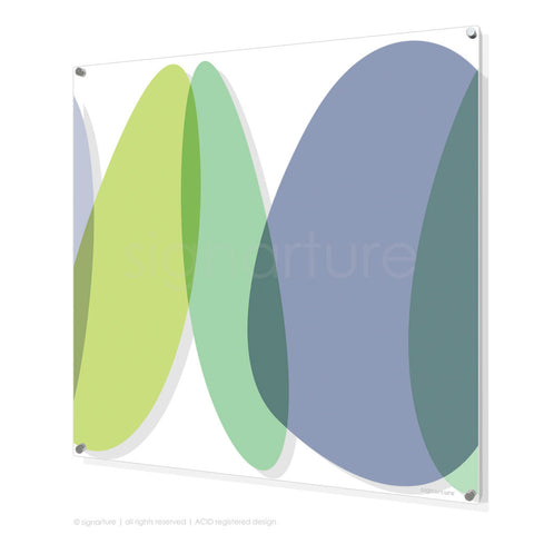 abstract perspex art lhotse multi square