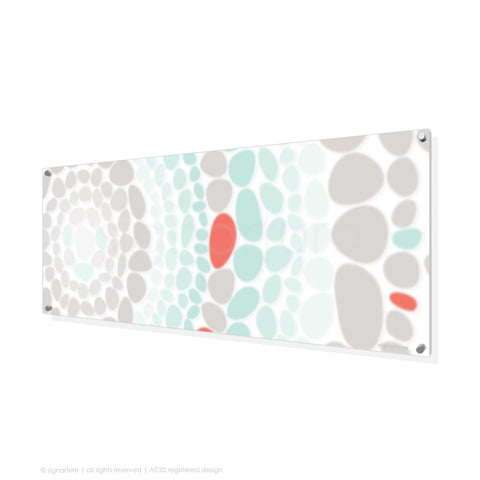 abstract perspex art lumbini coral panoramic