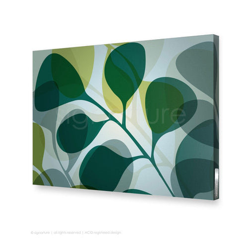 contemporary canvas art kuranda blue rectangular