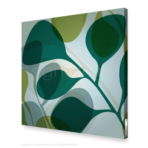 contemporary canvas art kuranda blue square