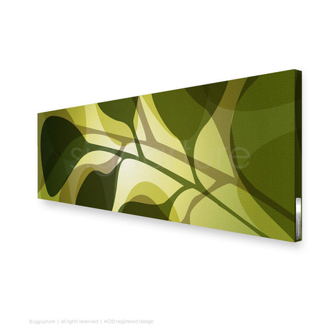 contemporary canvas art kuranda green panoramic