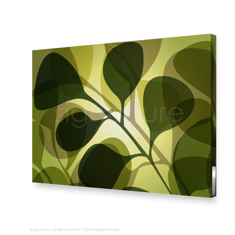 contemporary canvas art kuranda green rectangular