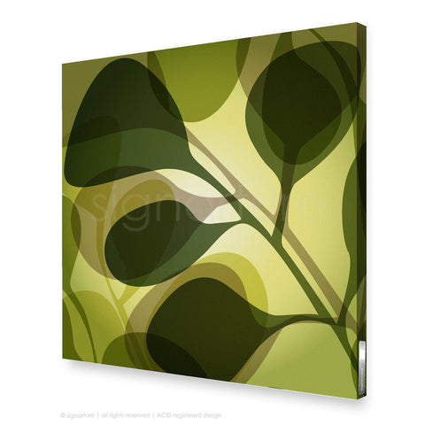 contemporary canvas art kuranda green square