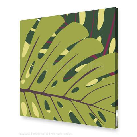 contemporary canvas art noosa green square