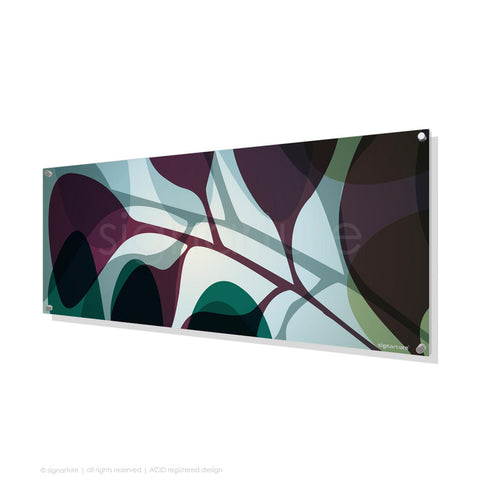 contemporary perspex art kuranda magenta panoramic