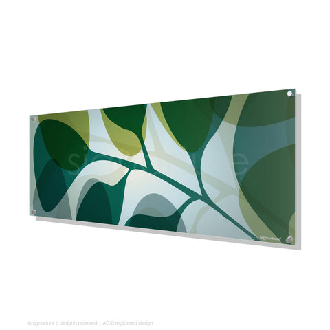 contemporary perspex art kuranda blue panoramic