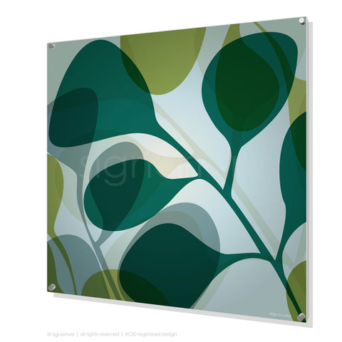 contemporary perspex art kuranda blue square