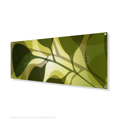 contemporary perspex art kuranda green panoramic