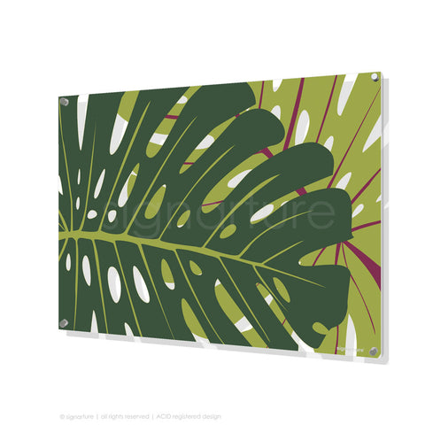 contemporary perspex art noosa yellow rectangular