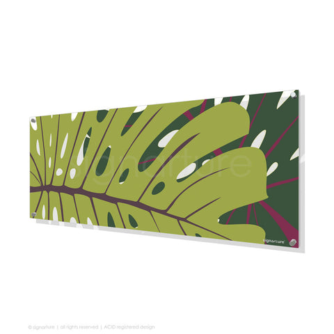 contemporary perspex art noosa green panoramic