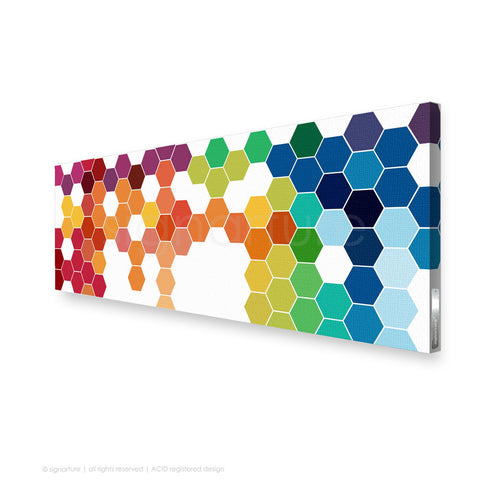 geometric canvas art chelsea multi panoramic
