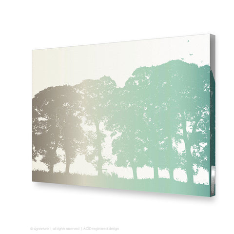 tree canvas art aberfeldy blue rectangular