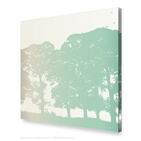 tree canvas art aberfeldy blue square