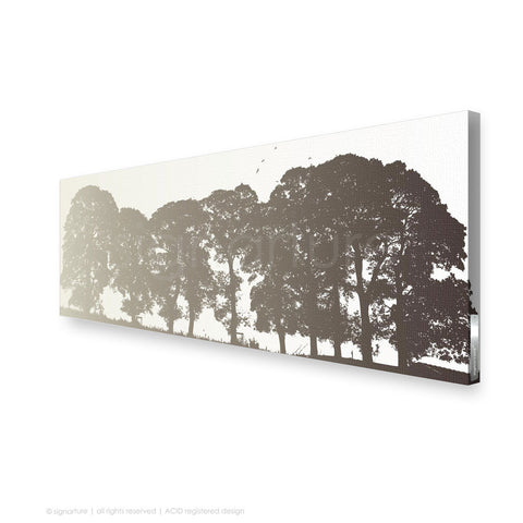 tree canvas art aberfeldy brown panoramic