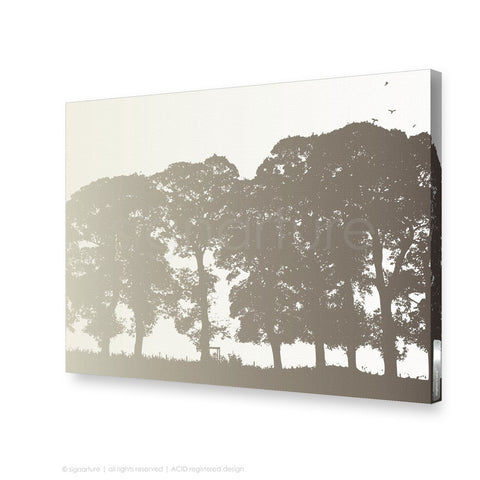 tree canvas art aberfeldy brown rectangular