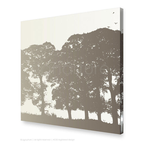 tree canvas art aberfeldy brown square