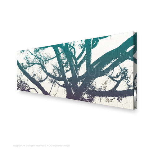 tree canvas art balmoral blue panoramic