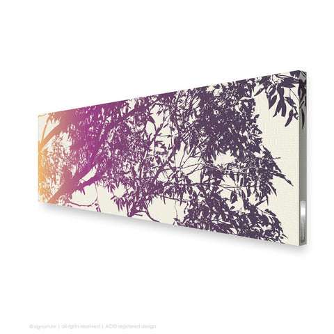 tree canvas art blackheath magenta panoramic