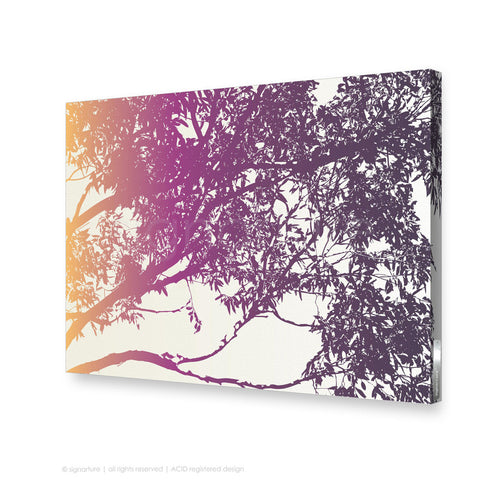 tree canvas art blackheath magenta rectangular