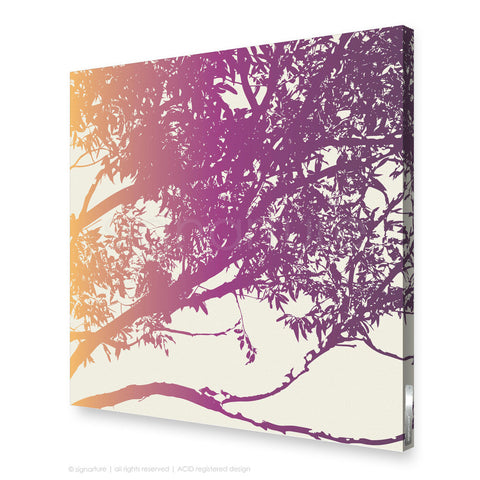 tree canvas art blackheath magenta square