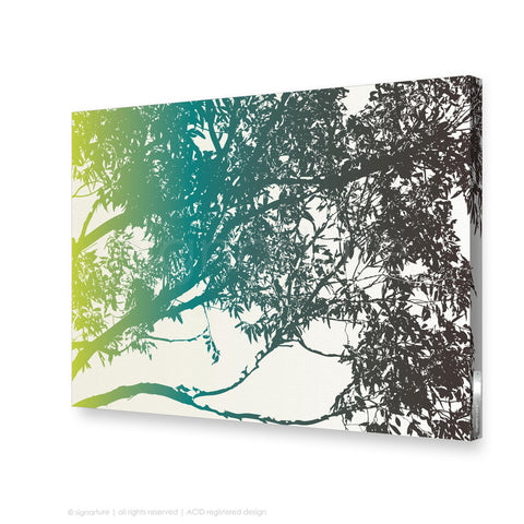 tree canvas art blackheath blue rectangular