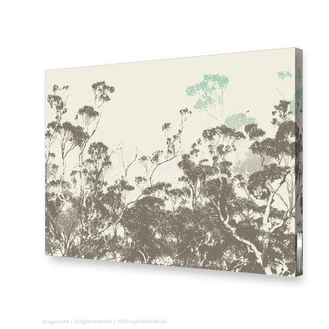 tree canvas art braidwood blue rectangular
