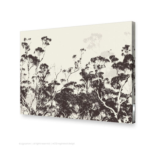 tree canvas art braidwood brown rectangle
