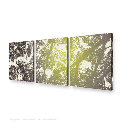 tree canvas art gleneagles green triptych
