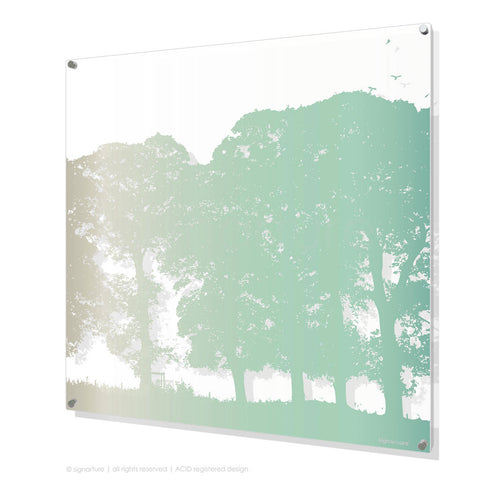 tree perspex art aberfeldy blue square