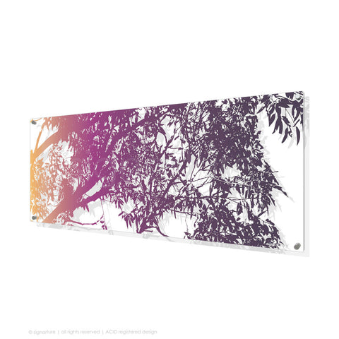 tree perspex art blackheath magenta panoramic