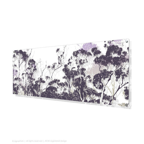 tree perspex art braidwood purple panoramic