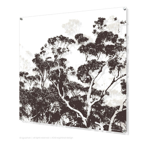 tree perspex art braidwood brown square